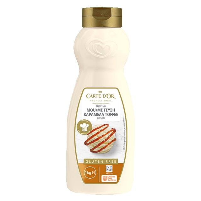 Carte D' Or Σιρόπι Καραμέλα Toffee 1 kg