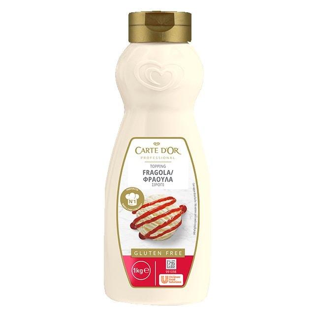 Carte D' Or Σιρόπι Φράουλα 1 kg -