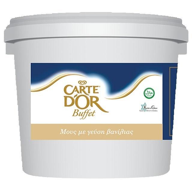 Carte D' Or Buffet Μους με Γεύση Βανίλια 5 kg