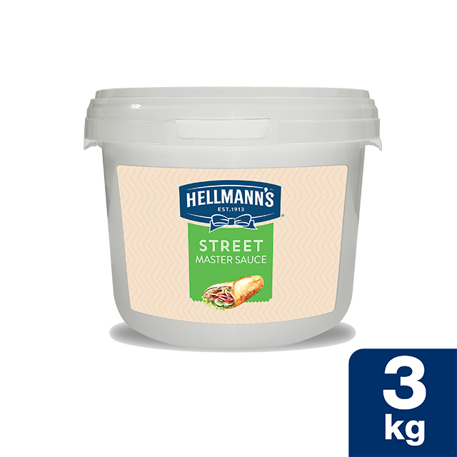 Hellmann's Street Μάστερ Σως 3 Kg