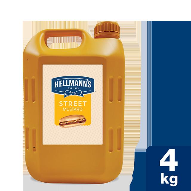 Hellmann's Street Μουστάρδα 4 Kg