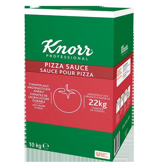 "Knorr Σάλτσα Τομάτας για Ζυμαρικά, Πίτσες & Μαγειρευτά 10kg - ""Για τη σάλτσα χρειάζεται φυσική γεύση τομάτας και υφή κατάλληλη για πολλές παρασκευές, όπως ζυμαρικά, πίτσα και μαγειρευτά."""