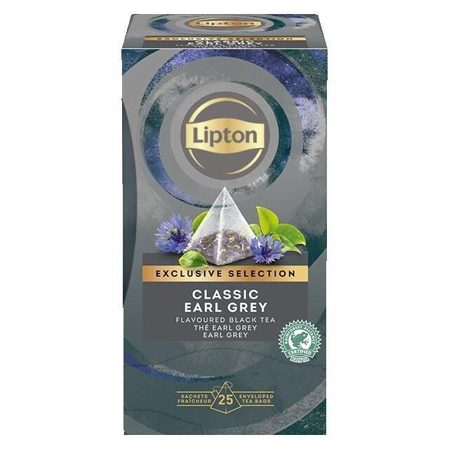Lipton Πυραμίδα Classic Earl Grey 25 Φακελάκια -