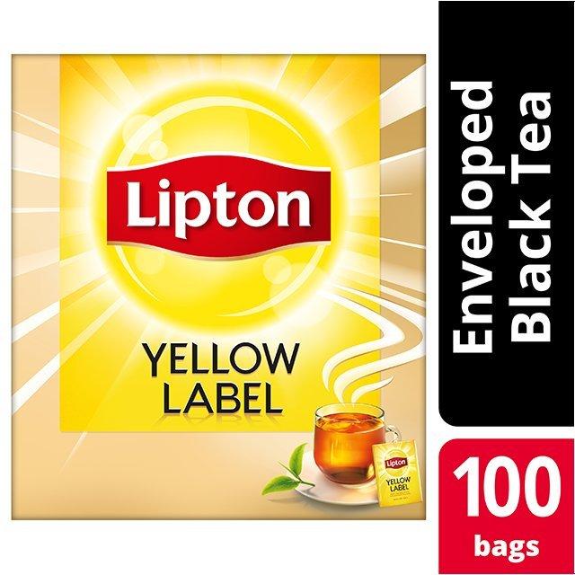 Lipton Yellow Label 100 Ατομικά Φακελάκια -