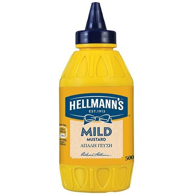 Hellmann's Απαλή Μουστάρδα 500 gr
