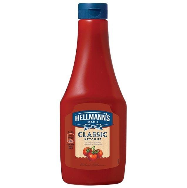 Hellmann's  Κέτσαπ Σκουήζυ 560 gr -