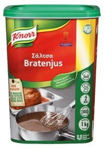 Knorr Αφυδατωμένη Σάλτσα Μπράτενζους 1 kg -
