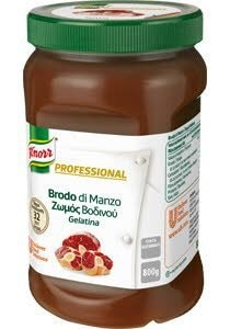 Knorr Επαγγελματικός Ζωμός Βοδινού σε Gel 800 gr -