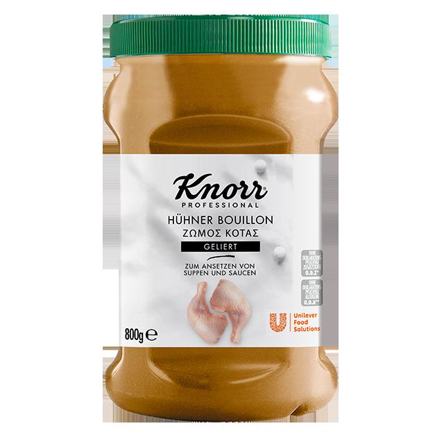 Knorr Επαγγελματικός Ζωμός Κοτόπουλου σε Gel 800 gr -