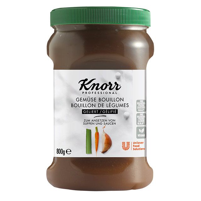 Knorr Επαγγελματικός Ζωμός Λαχανικών σε Gel 800 gr -