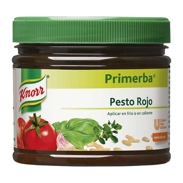 Knorr Primerba  Pesto Rosso με Τομάτα και Βασιλικό 340 gr -