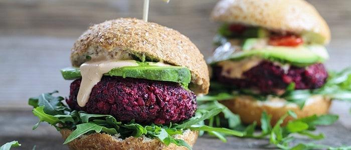 Λαχταριστό Burger χωρίς κρέας