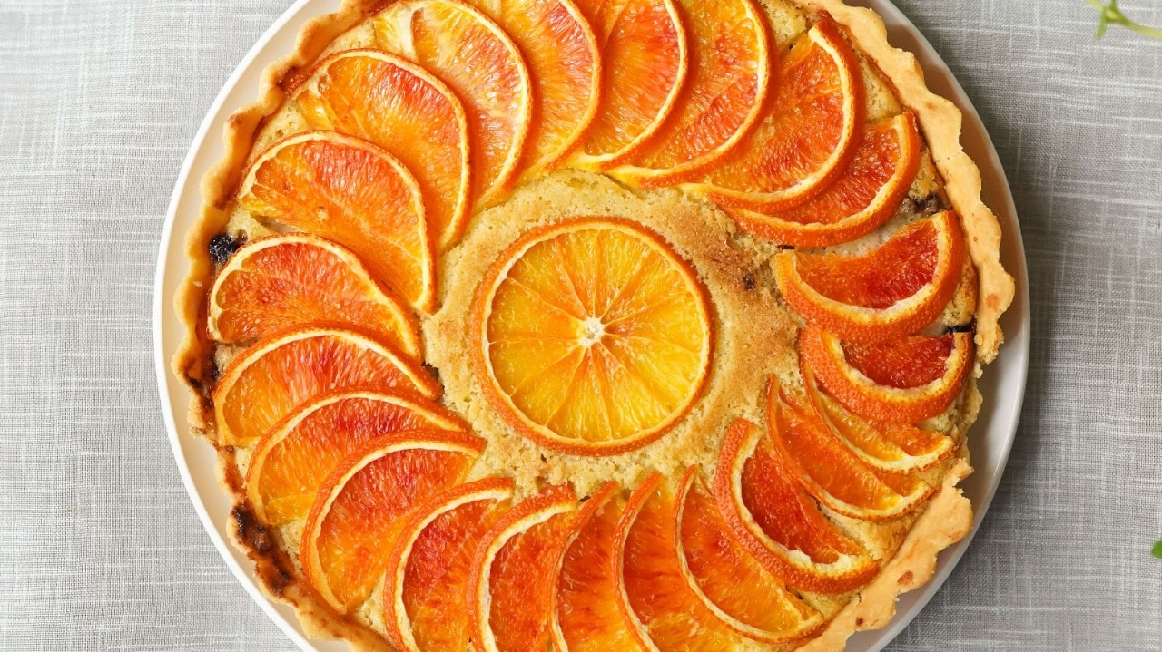 Colour is king Orange pie